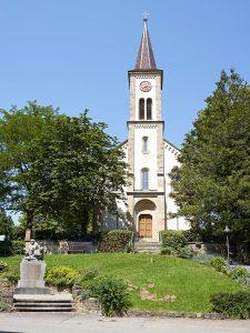 Johanneskirche, Laufen