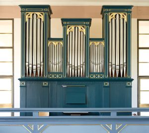 Orgelprospekt in der Johanneskirche